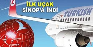 Sinop Havaalanı 1 yıl aradan sonra tekrar uçuşlara açıldı