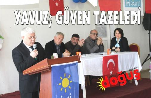 İYİ Parti Ayancık İlçe kongresi yapıldı