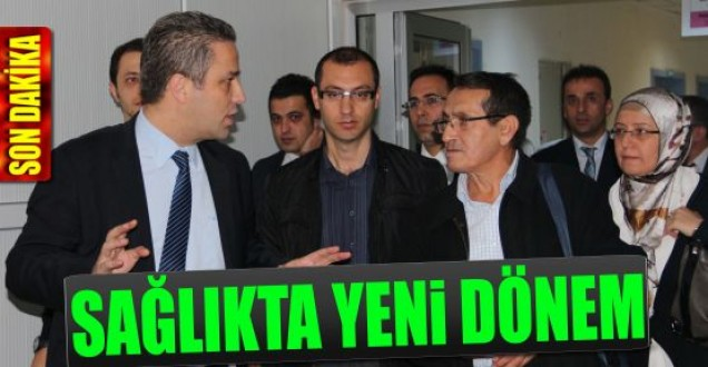 SİNOP DEVLET HASTANESİ'NE YENİ ÜNİTE