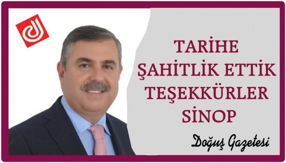 TARİHE ŞAHİTLİK ETTİK,